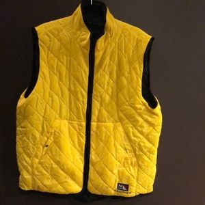 Nautica Quilted Reversible Vest XL Like New